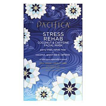 Pacifica Beauty Stress Rehab Coconut & Caffeine Facial Mask, 1 count