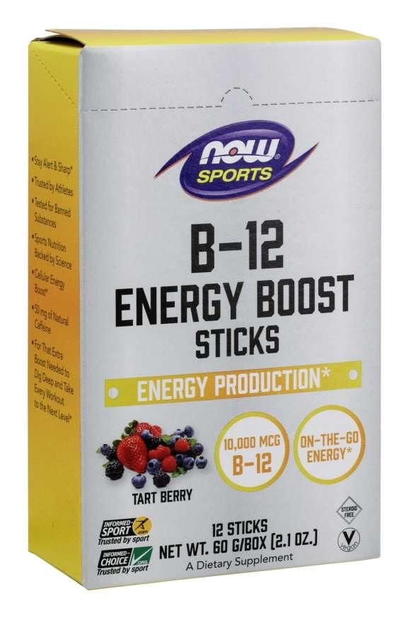 B-12 Energy Boost Tart Berry Sticks