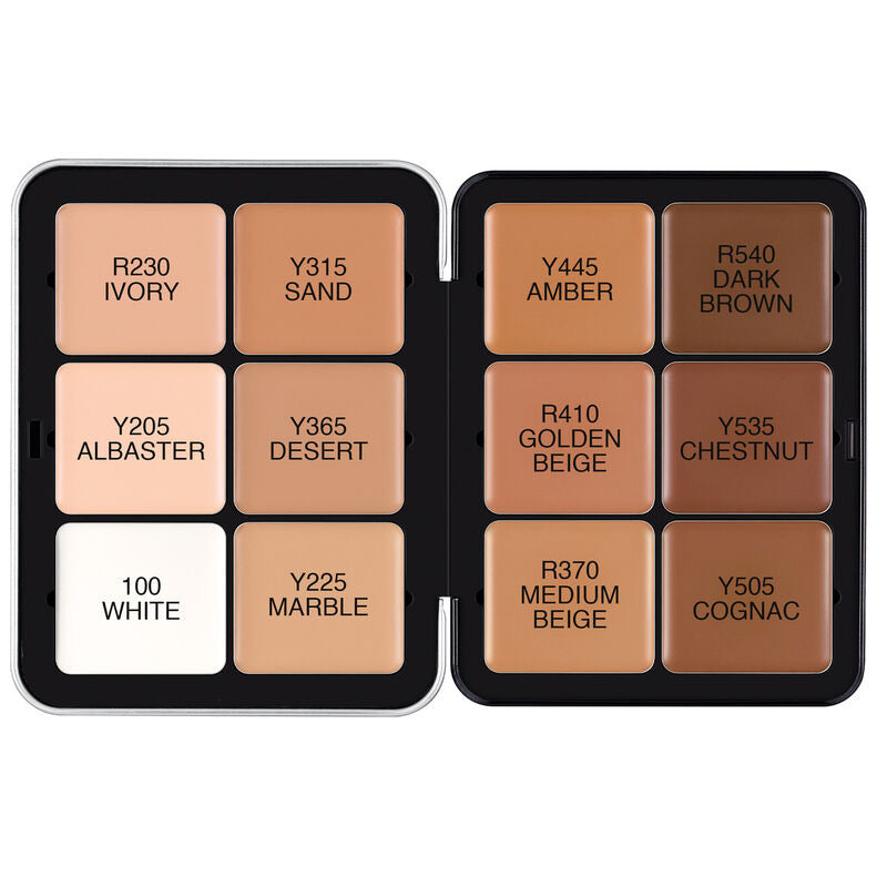 Ultra HD Invisible Cover Cream Foundation Palette