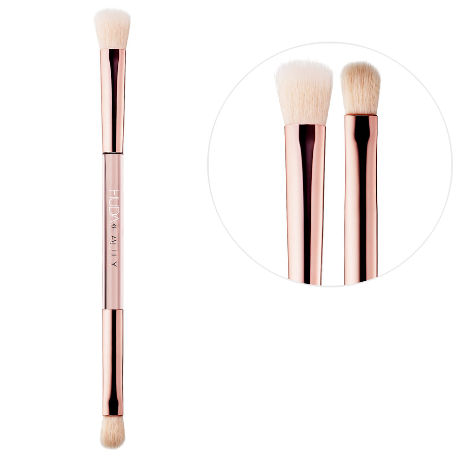 Build & Blend Dual-Ended Eyeshadow Blending Brush