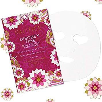 3.8 out of 5 stars  19 Reviews Pacifica Beauty Pacifica Beauty Disobey Time Rose & Peptide Facial Mask, 12 Count