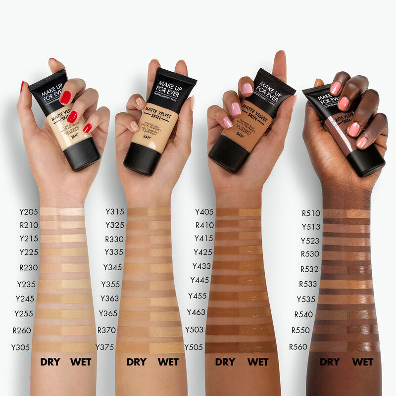 Matte Velvet Skin Full Coverage Foundation