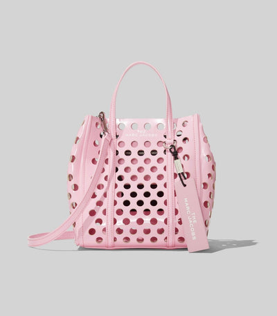 THE PERFORATED MINI TAG TOTE