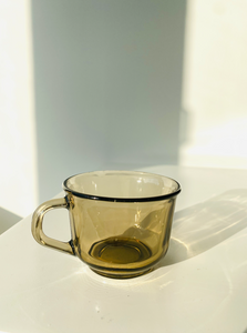 Espresso-size Smokey mug made in France