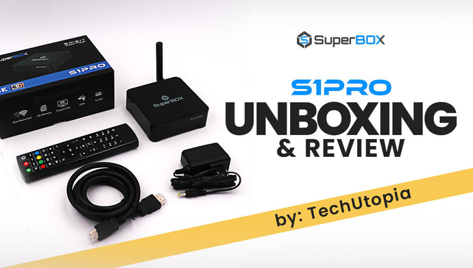 SUPERBOX S1 Pro Unboxing/Review Android TV Box - TechUtopia