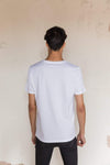 Pima Cotton T Shirt Crew Neck - Supernova White