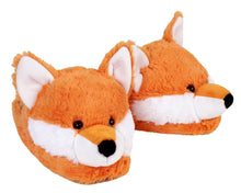 Load image into Gallery viewer, Fuzzy Fox Slippers