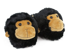 Load image into Gallery viewer, Fuzzy Monkey Slippers