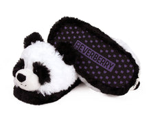 Load image into Gallery viewer, Fuzzy Panda Slippers