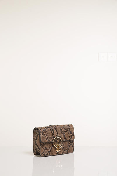 Animal Skin Mini Bag