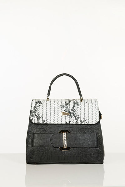 Trendy Hand Bag - Black