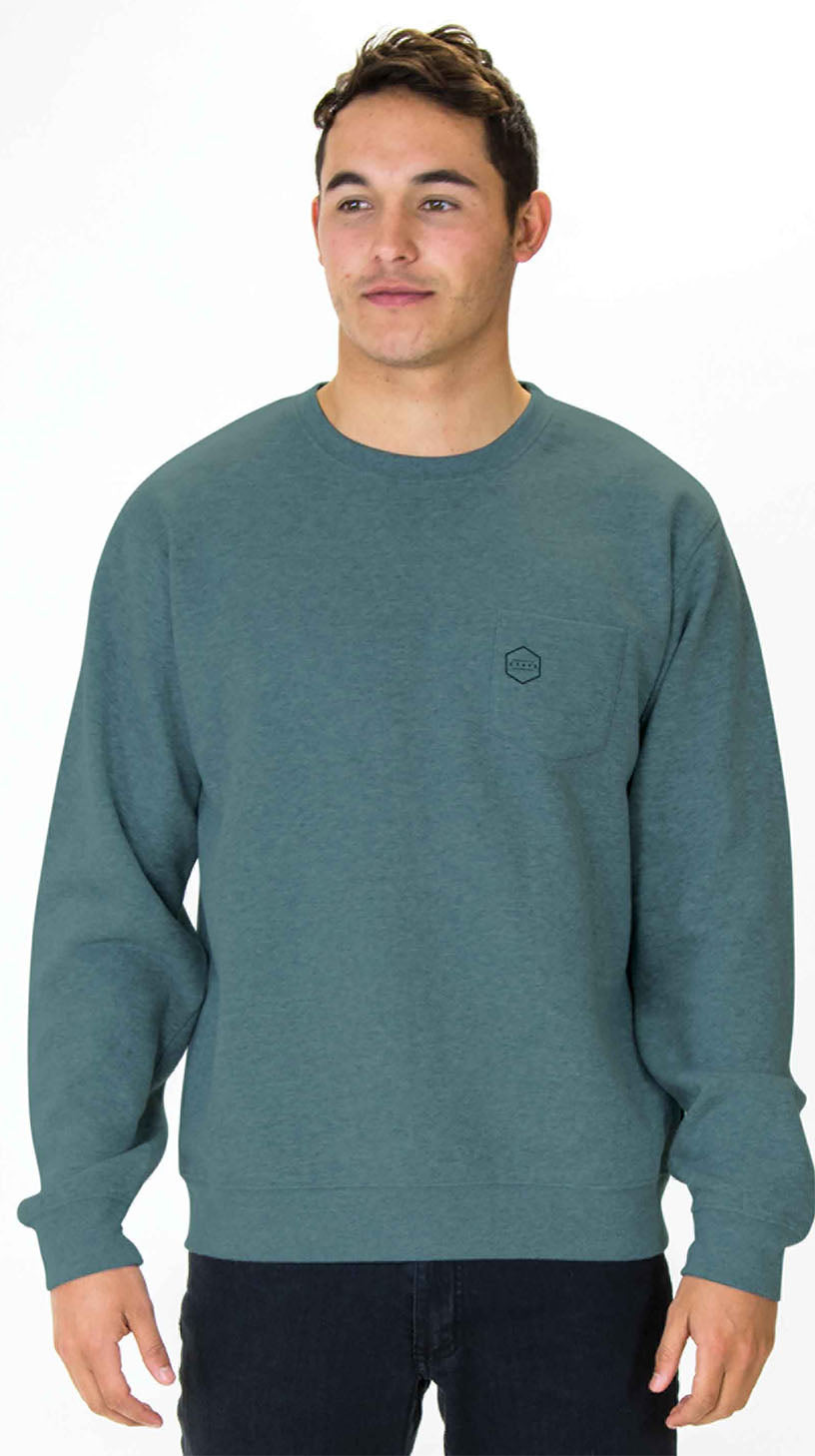 TRACKS Crew Neck Sweatshirt by Carve