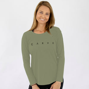 PIN POINT Women's Long Sleeve Shirt