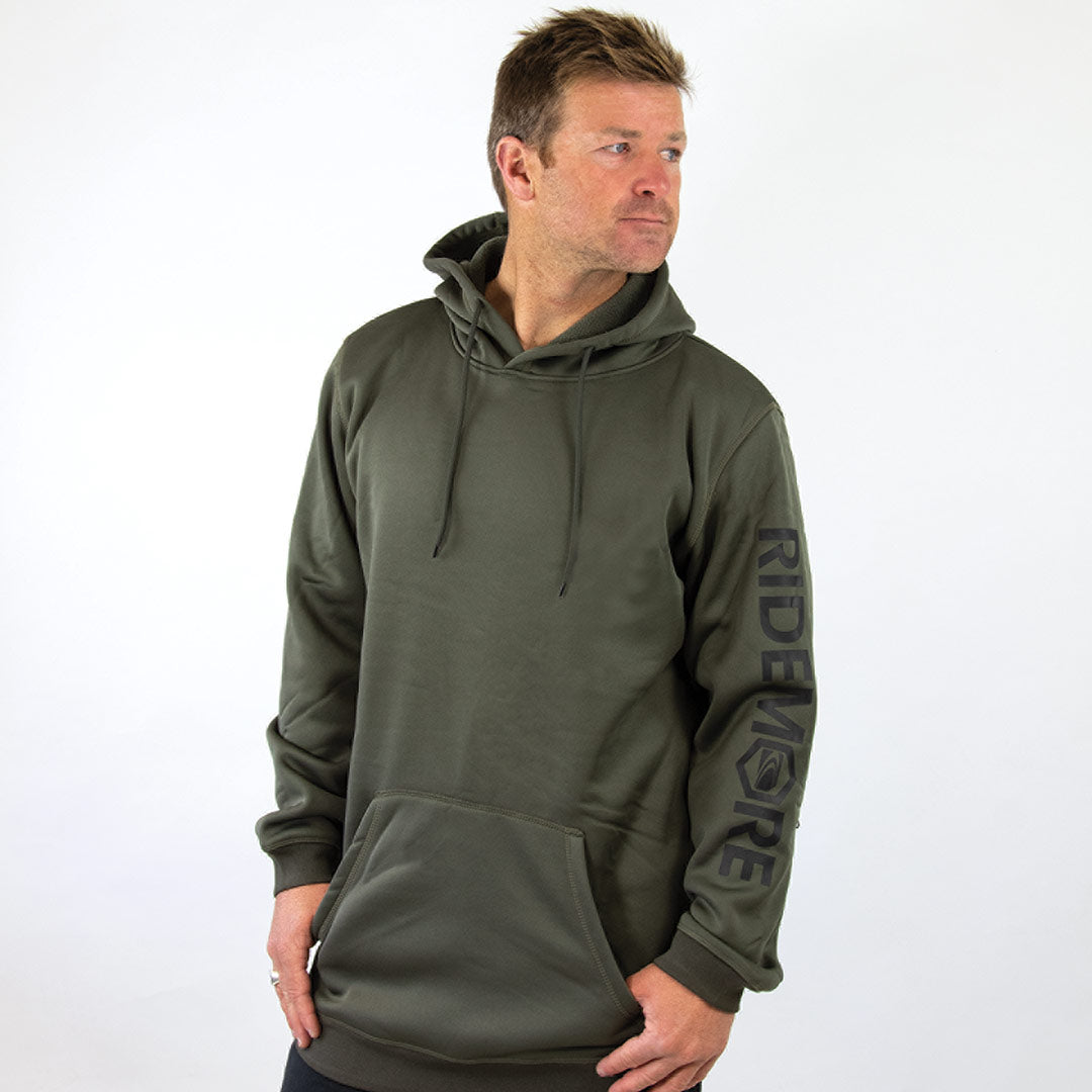 CHILL BOARD Men's double knit snow Hoodie