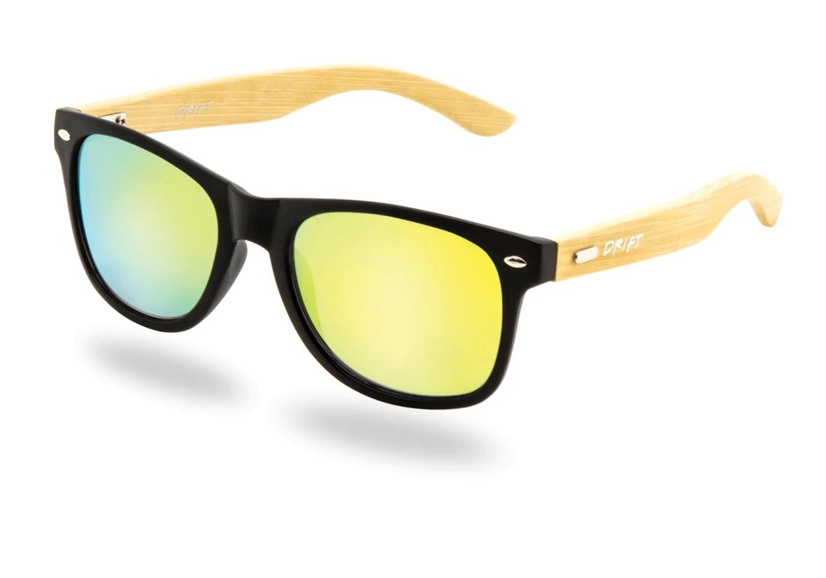 Drift Bamboo Iridium Sunglasses