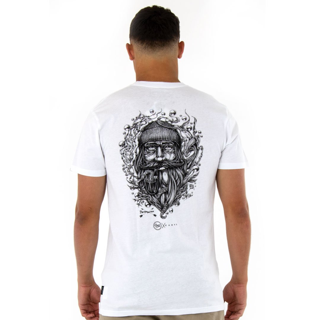 SALTY DOG Mens T-shirt by Carve