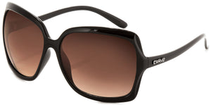 GRACE Non-Polarized Sunglasses Gloss black frame | Bronze lens by Carve