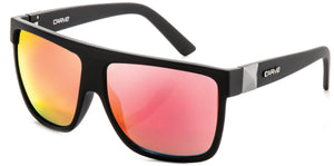 Matt black frame | Red iridium lens