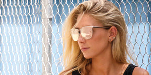 THE AMANDA Non-polarized Iridium Sunglasses