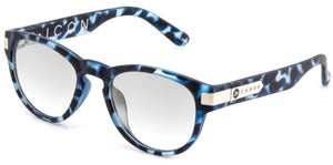 Blue tort transparent frame | Reading lens