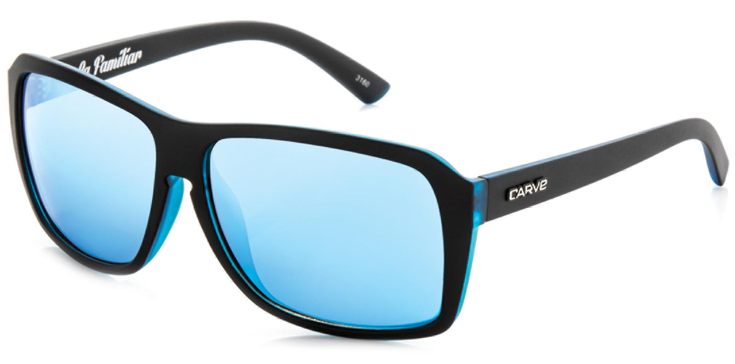 LA FAMILIAR Non-Polarized Iridium Sunglasses by Carve