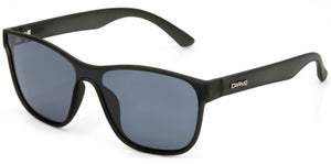 GATTACA Polarized Sunglasses by Carve | Matt slate frame | Grey lens