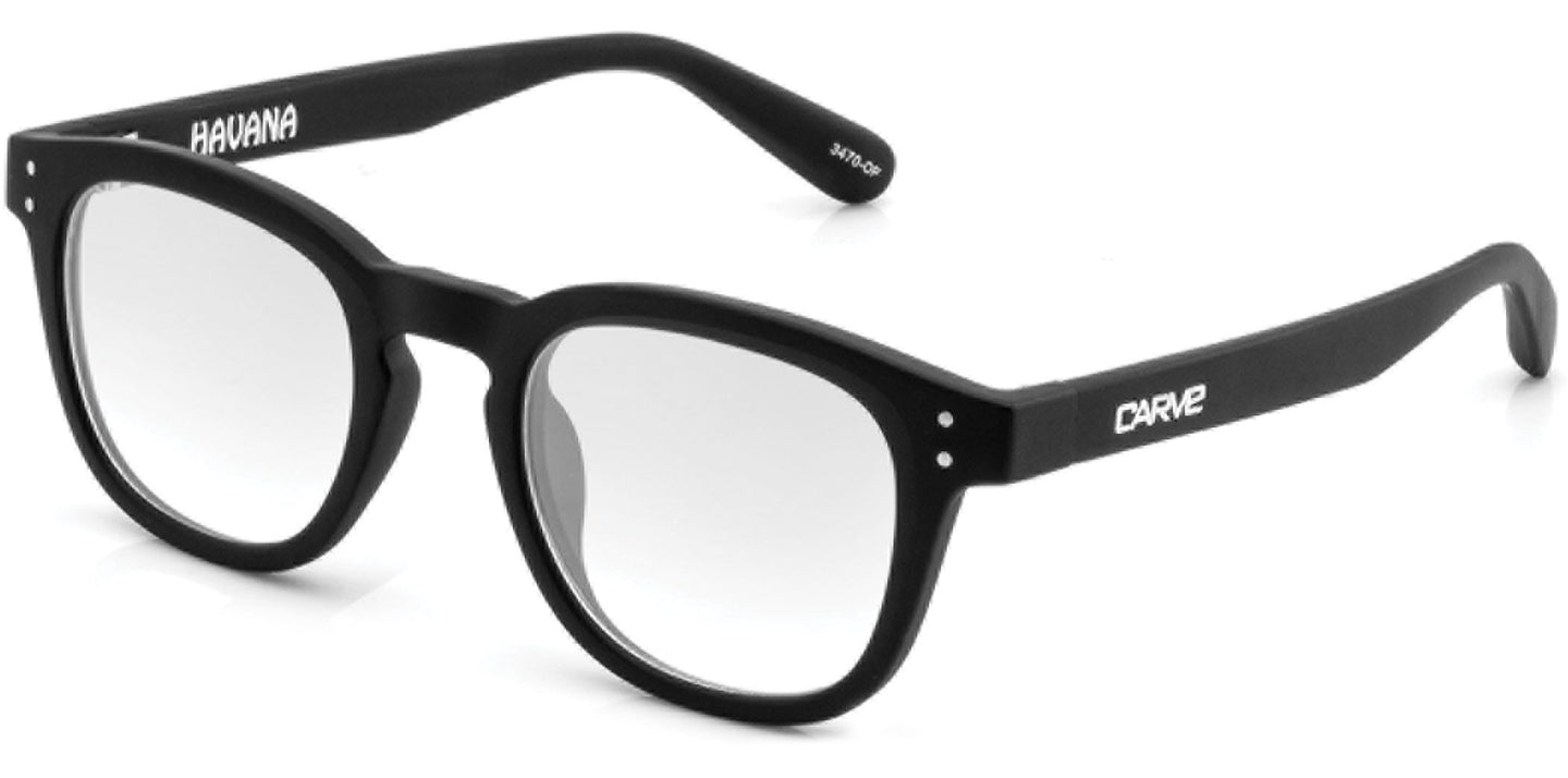 HAVANA Reading Glasses | Matt black frame