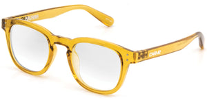 HAVANA Reading Glasses | Honey clear frame