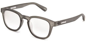 HAVANA Reading Glasses | Grey translucent frame