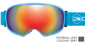 FIRST TRACKS All Round Lens Goggles SIZE: Adult Medium-2
