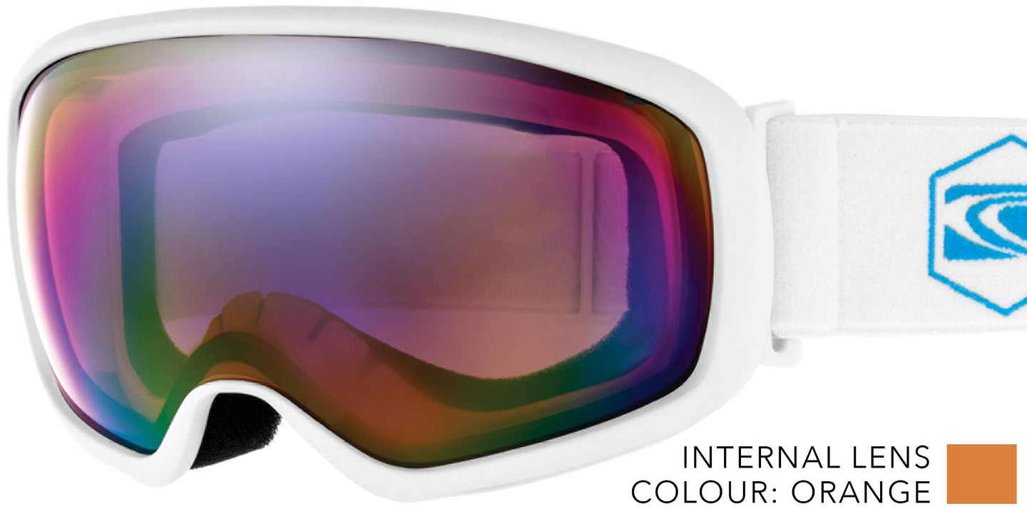 FIRST TRACKS Low Light Lens Goggles ASIAN FIT by Carve