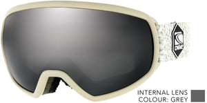 Warm grey frame | Silver Iridium lens