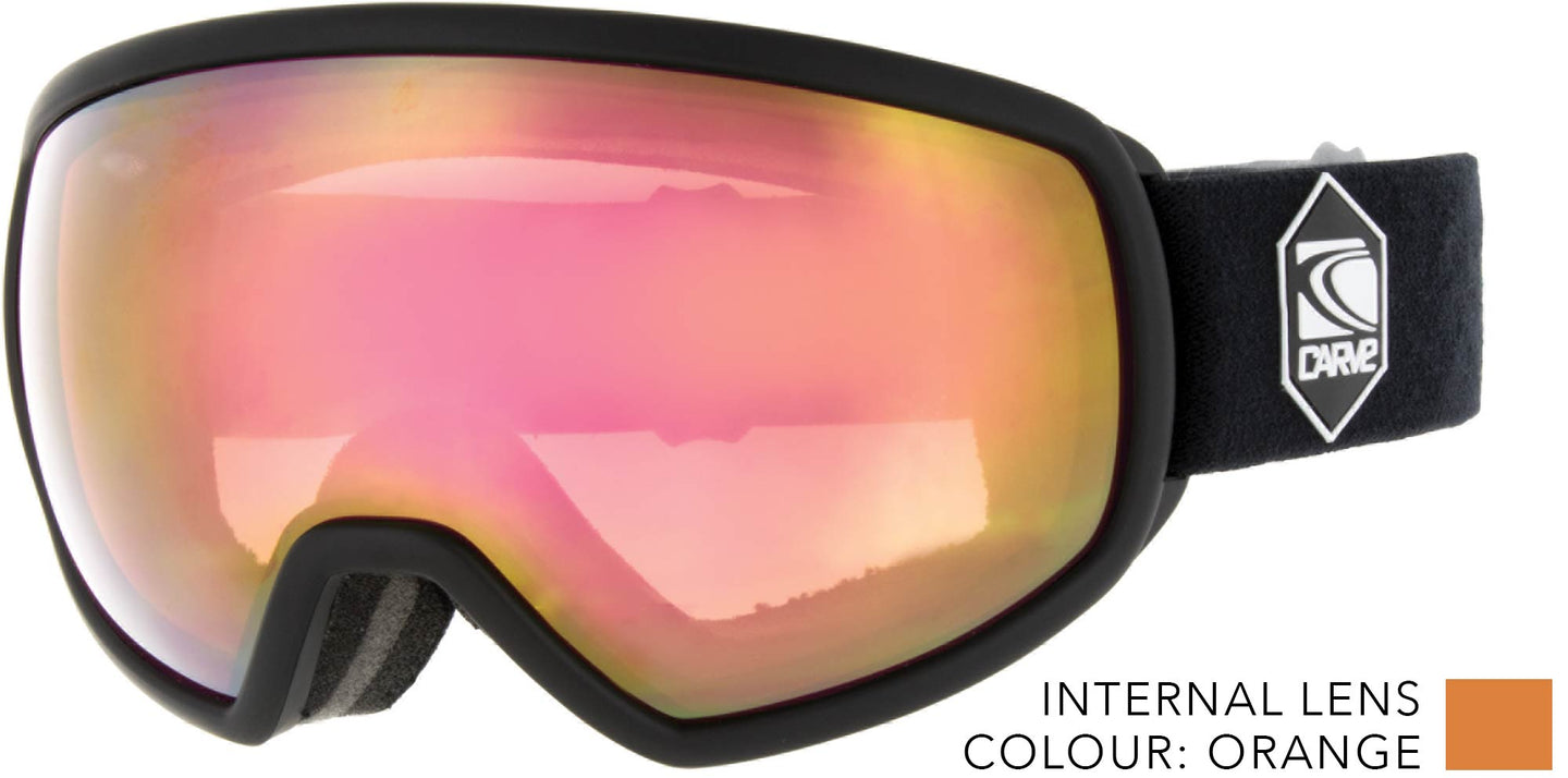 SHOOTS Low Light Lens ASIAN FIT Goggles by Carve
