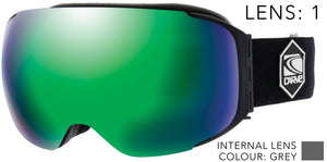 THE BOSS INTERCHANGEABLE Lens System Goggles-1