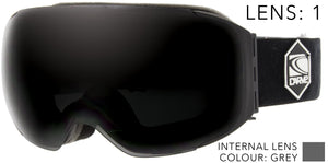 THE BOSS INTERCHANGEABLE Lens System Goggles by Carve