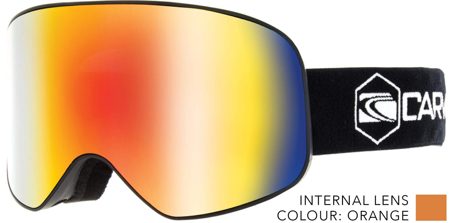 FROTHER Low light lens ASIAN FIT Goggles by Carve