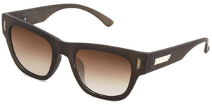 MARLEY Polarized Sunglasses by Carve | Matt brown frame | Brown lens