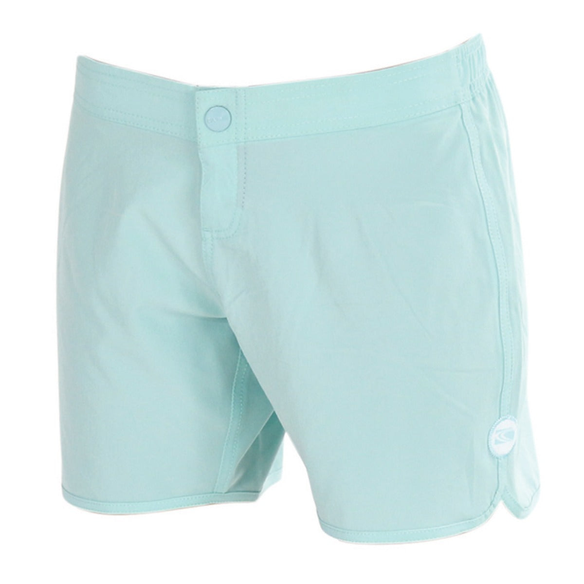BEACH WAY ladies Scoop Leg Board short - aqua