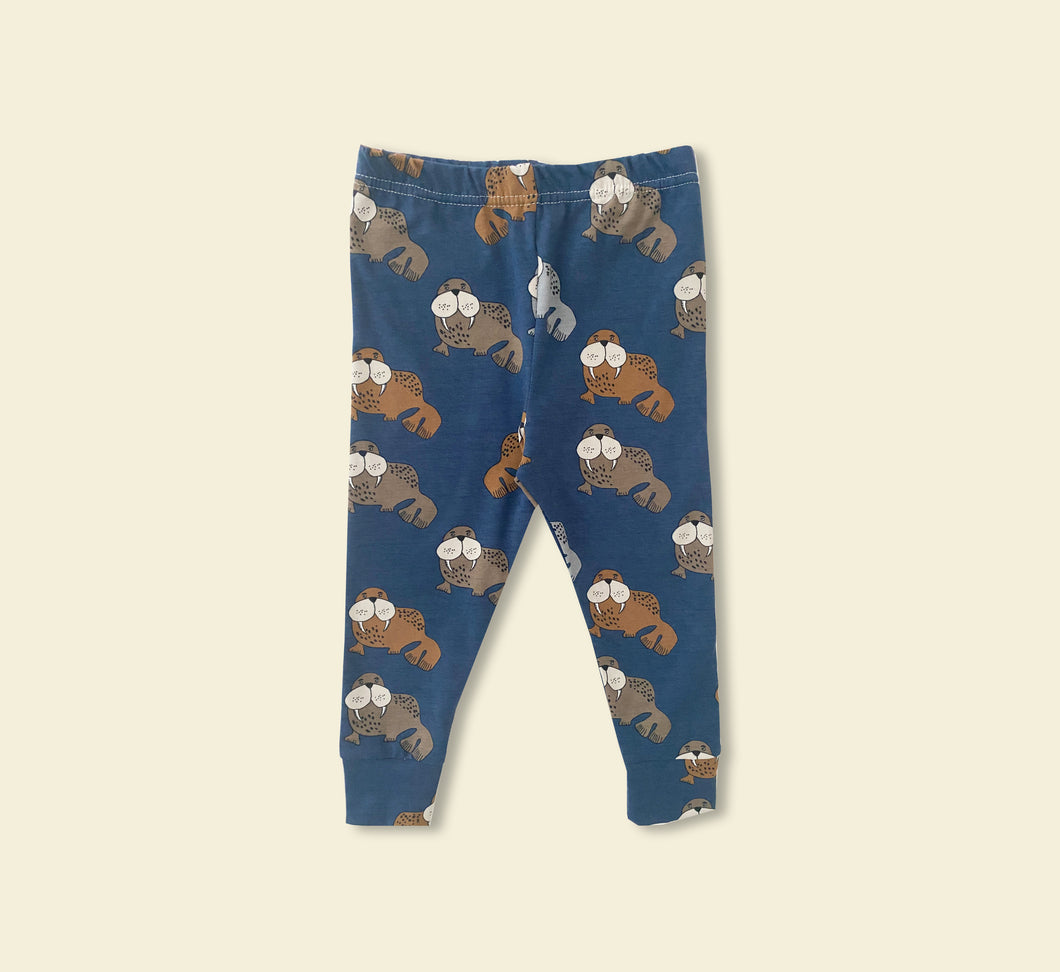 Blue Walrus Leggings - Play Cotton