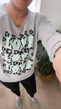 "Load image into Gallery viewer, ""LOVE LOVE LOVE"" Sweater - Play Cotton"