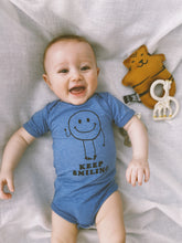 Load image into Gallery viewer, Keep Smiling Baby Grow - Play Cotton