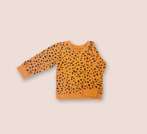 Cheetah Spot Jersey Top - Play Cotton