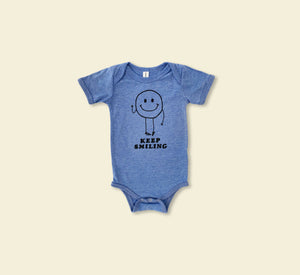 Keep Smiling Baby Grow - Play Cotton