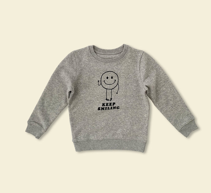 Keep Smiling Sweater - Play Cotton