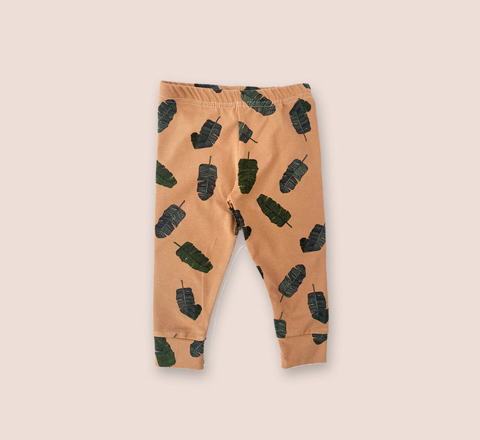 Falling Leaf Leggings - Play Cotton