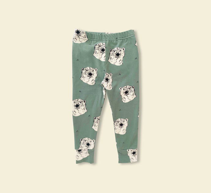 Polar Bear Leggings - Play Cotton