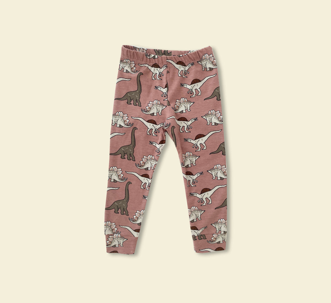 Dino Leggings - Play Cotton