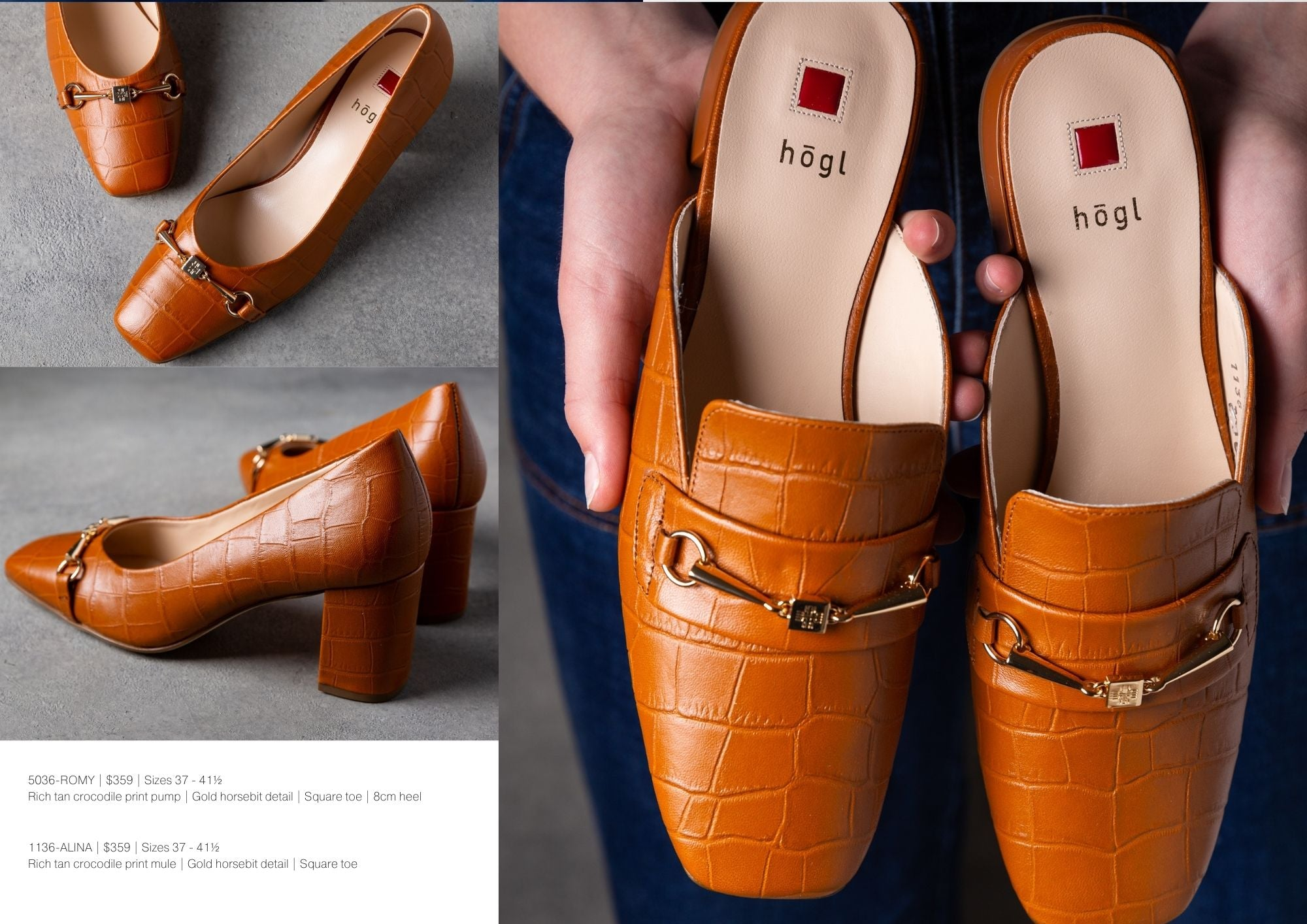 shop the hogl collection of women's shoes at Sissa Sorella online