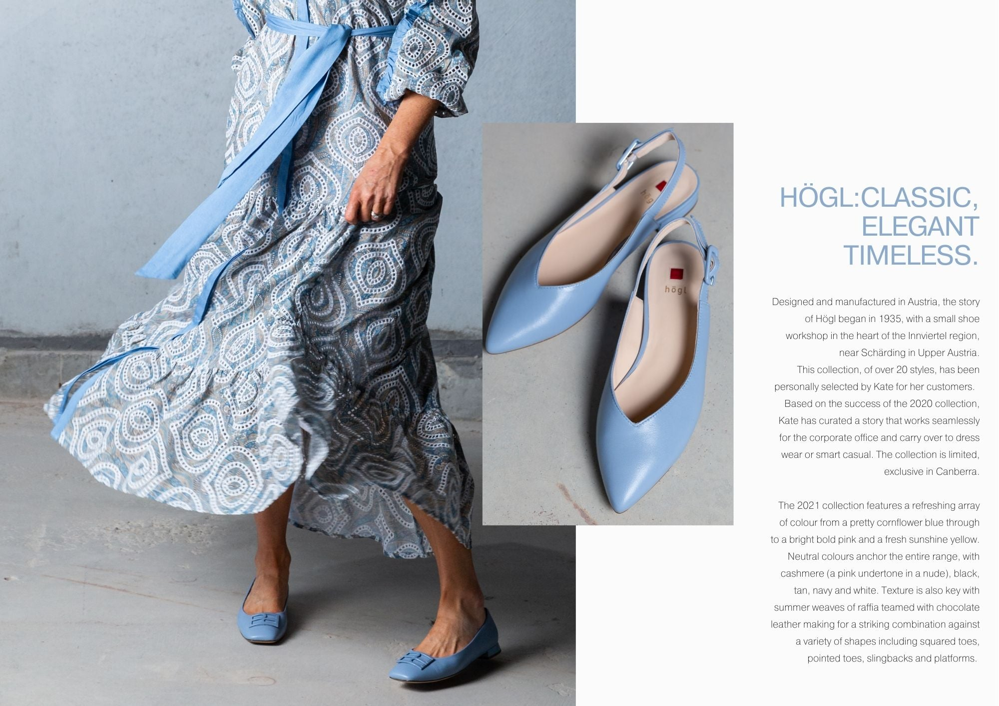 introducing hogl women's shoes from Sissa Sorella
