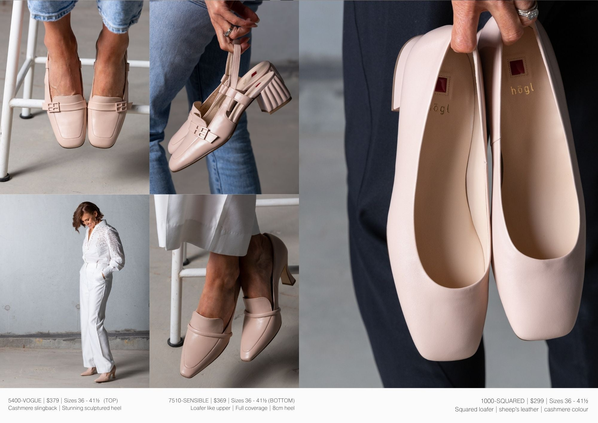 shop the hogl collection of women's shoes at Sissa Sorella
